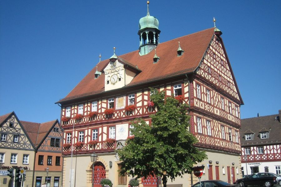 Historisches Rathaus in Bad Staffelstein